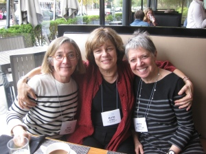 Amy Solomon, Ruth Hennig, and Anita Nager at HEFN's 2013 Annual Meeting. Image source: Andrea Levinson, HEFN